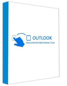 Outlook Drag & Drop to Browser Web and any application