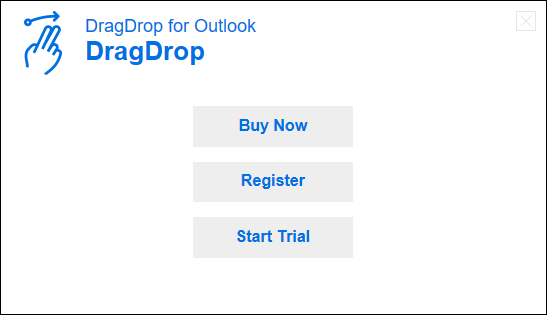 How to install - Single License - DragDrop for Outlook